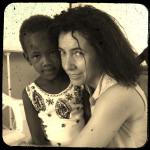 Io e la mia amica turkana Scholastica!