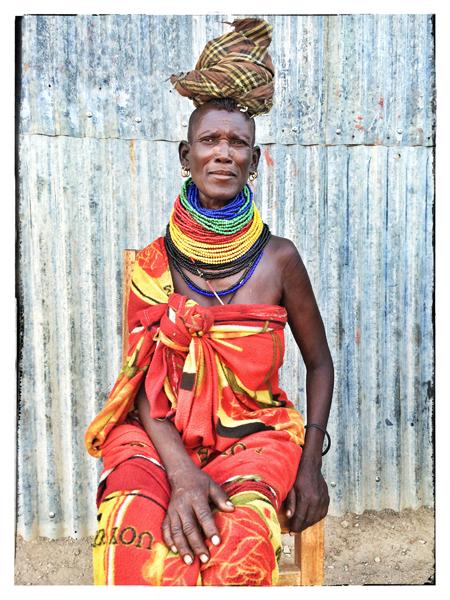 © 2014 Roberta Cappelli Kalokol, Kenya.  Turkana Woman.