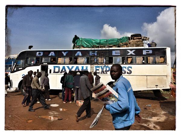 © 2014 Roberta Cappelli Kitale, Kenya.  Turkana Bus.
