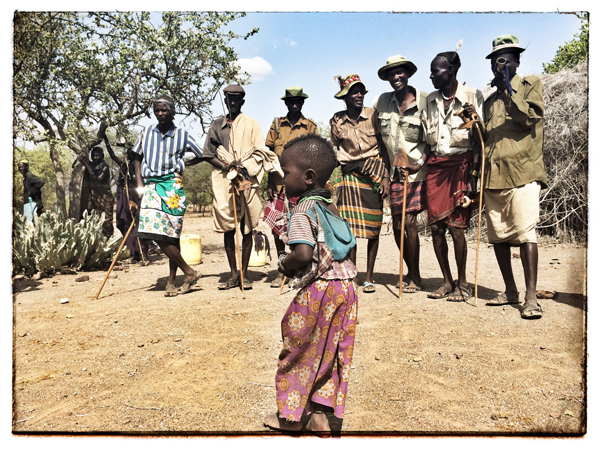 © 2014 Roberta Cappelli Longolemwar, Kaikor, Kenya.  Nomadic Pastoralists.