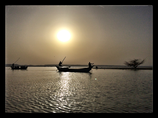 © 2014 Roberta Cappelli Long'ech, Kalokol, Kenya.  Sunset in the Turkana Lake.