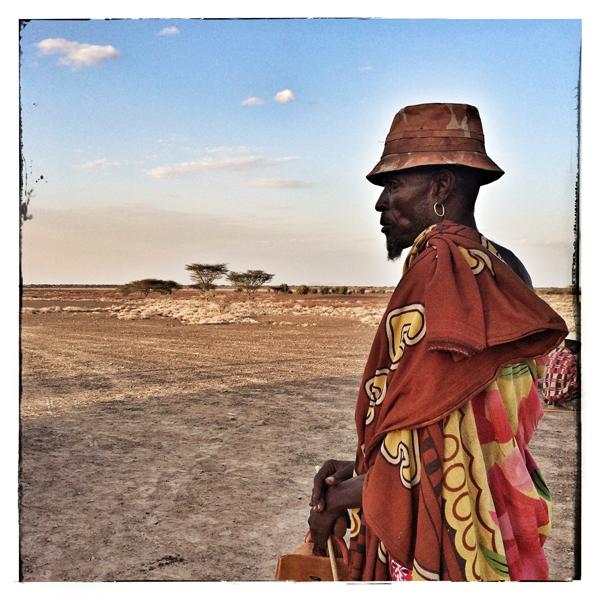 © 2014 Roberta Cappelli Turkana Desert, Kenya.  Nomadic Shepherd.