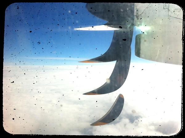 © 2015 Roberta Cappelli Kenya.  In the sky.